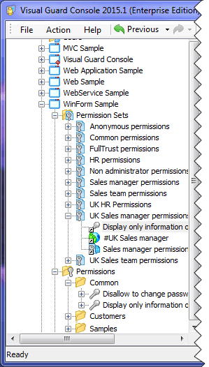 Access Control Administration with Visual Guard WinConsole