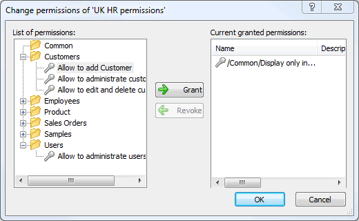 Group Permissions into Permission Sets