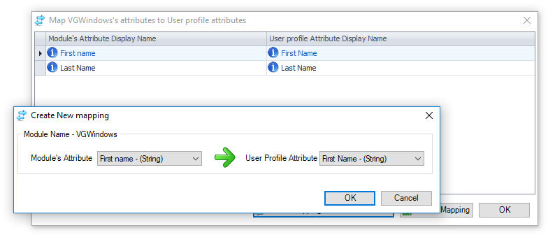 Edit Active Directory Accounts from Visual Guard